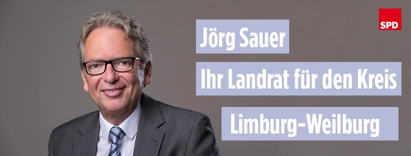 SPD Landratskandidat für Limburg-Weilburg Jörg Sauer